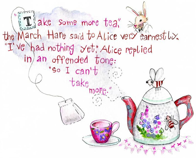 Cute Alice In Wonderland Quote Alice And Wonderland Quotes Red
