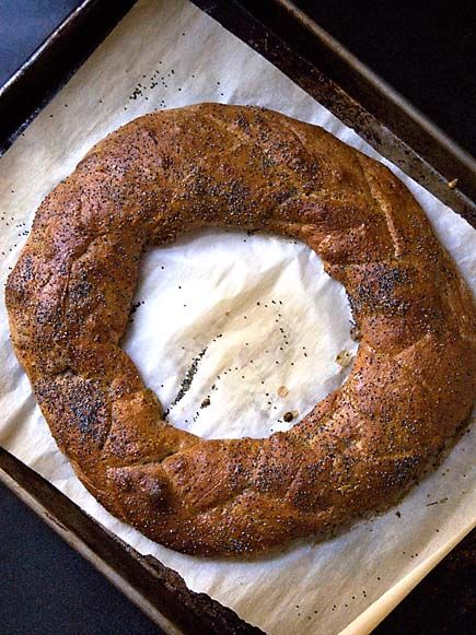 """Flatbread Braid Bread ~ This blog post includes both tips and a video to help you create this masterpiece ~ via this blog, """"Bread In 5""""."""