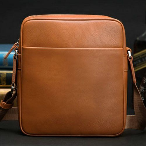 New Fashion 2015 Hot Men Messenger Bags Original Design Leather Water-proof Bag Men's Versatile Travel Bags Drop Shipping #413