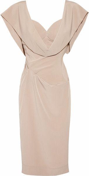 93cb1158da48 Vivienne Westwood ~ Crepe De Chine Dress. Love it. Looks like something  Jolie would wear in the tourist.