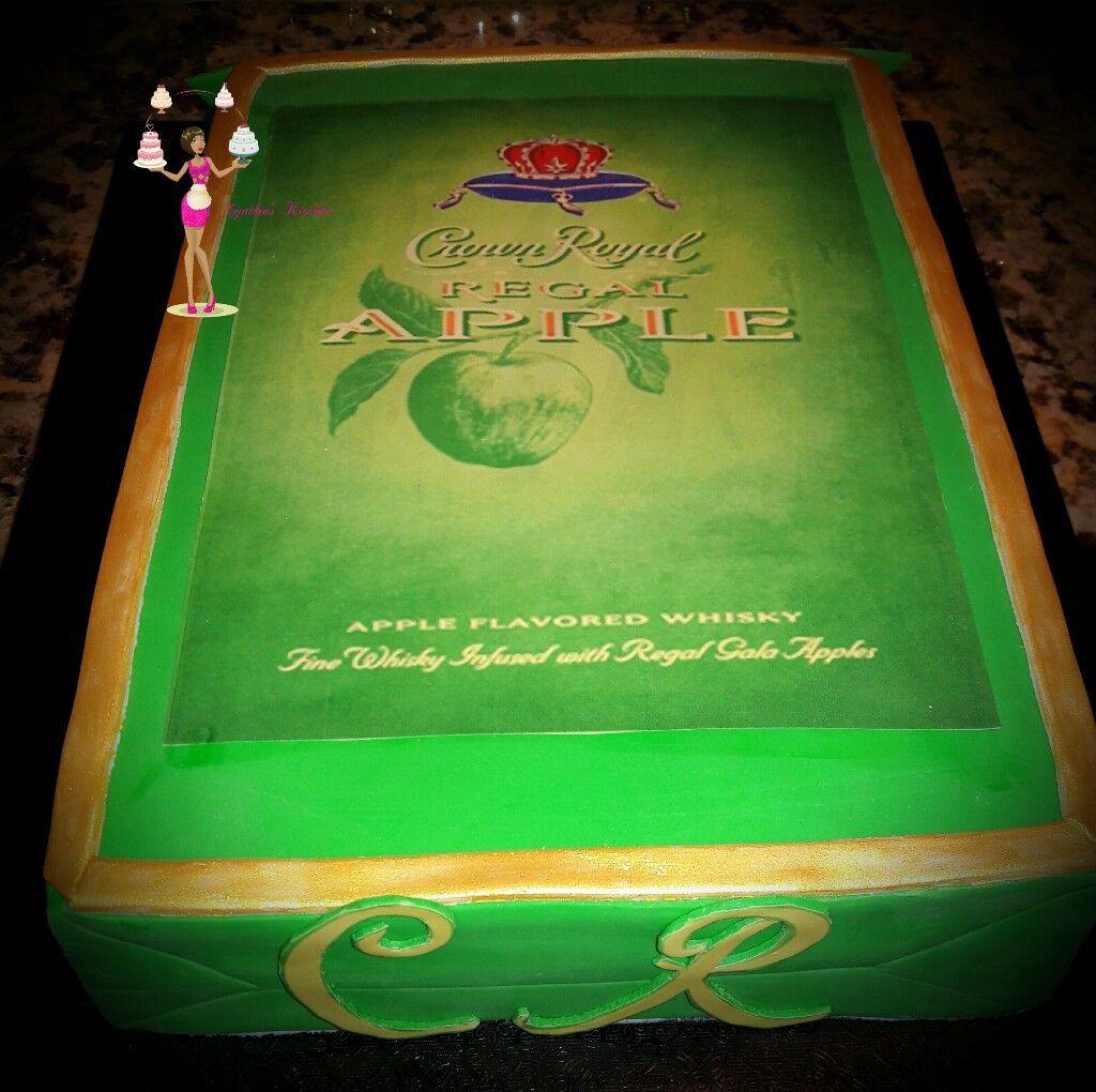 Crown royal box   Themed cakes, Crown royal, Decorative tray