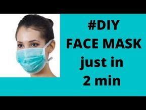 Photo of how to make a face mask easy   surgical mask #diy   paper mask tutorial easy corona   COVID-19 MASK
