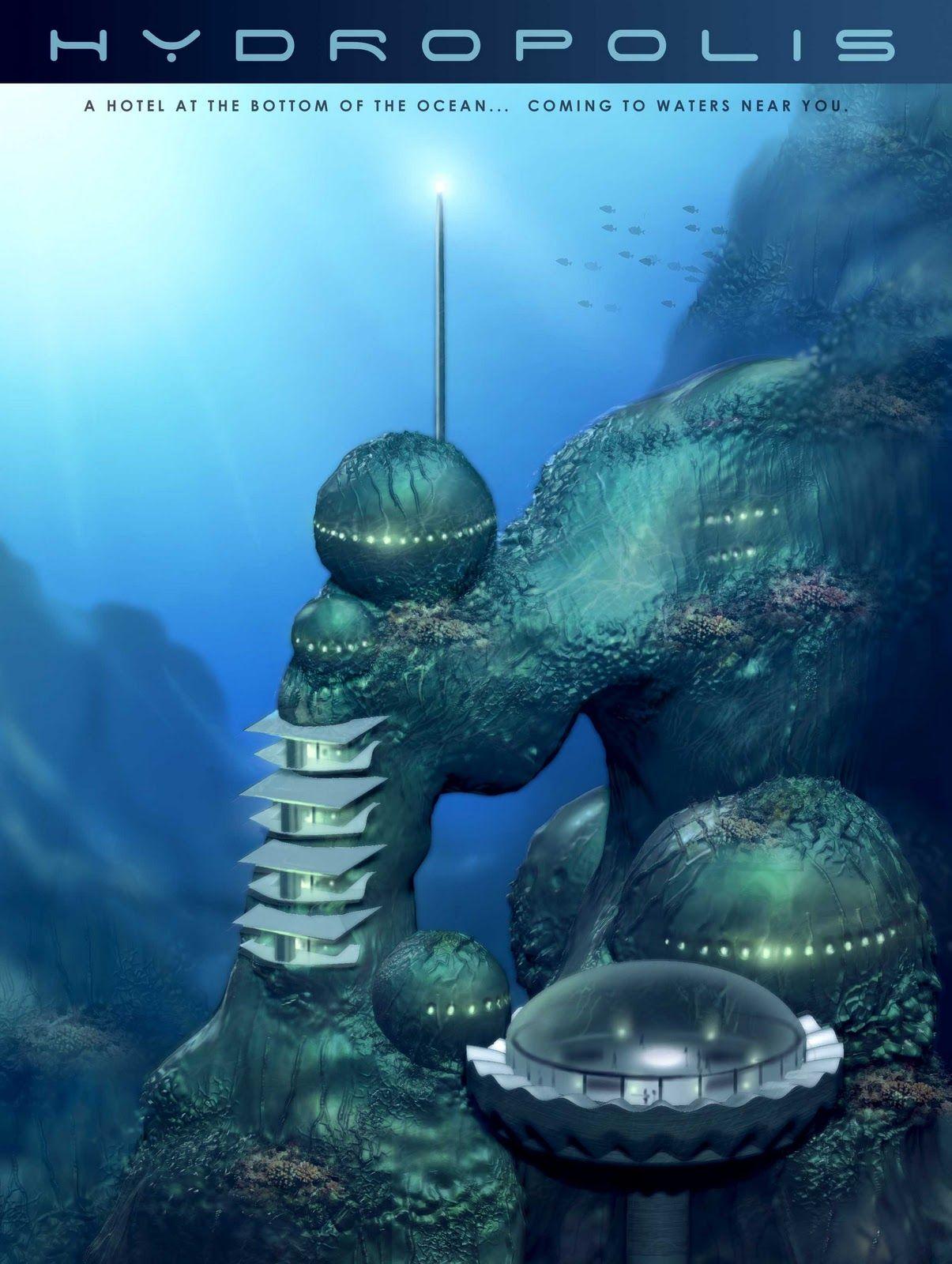 Hydropolis Underwater Hotel Greatest