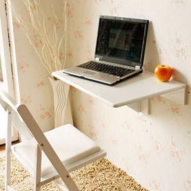 Esta mesa SE DOBLA... ¡¡me encanta!!