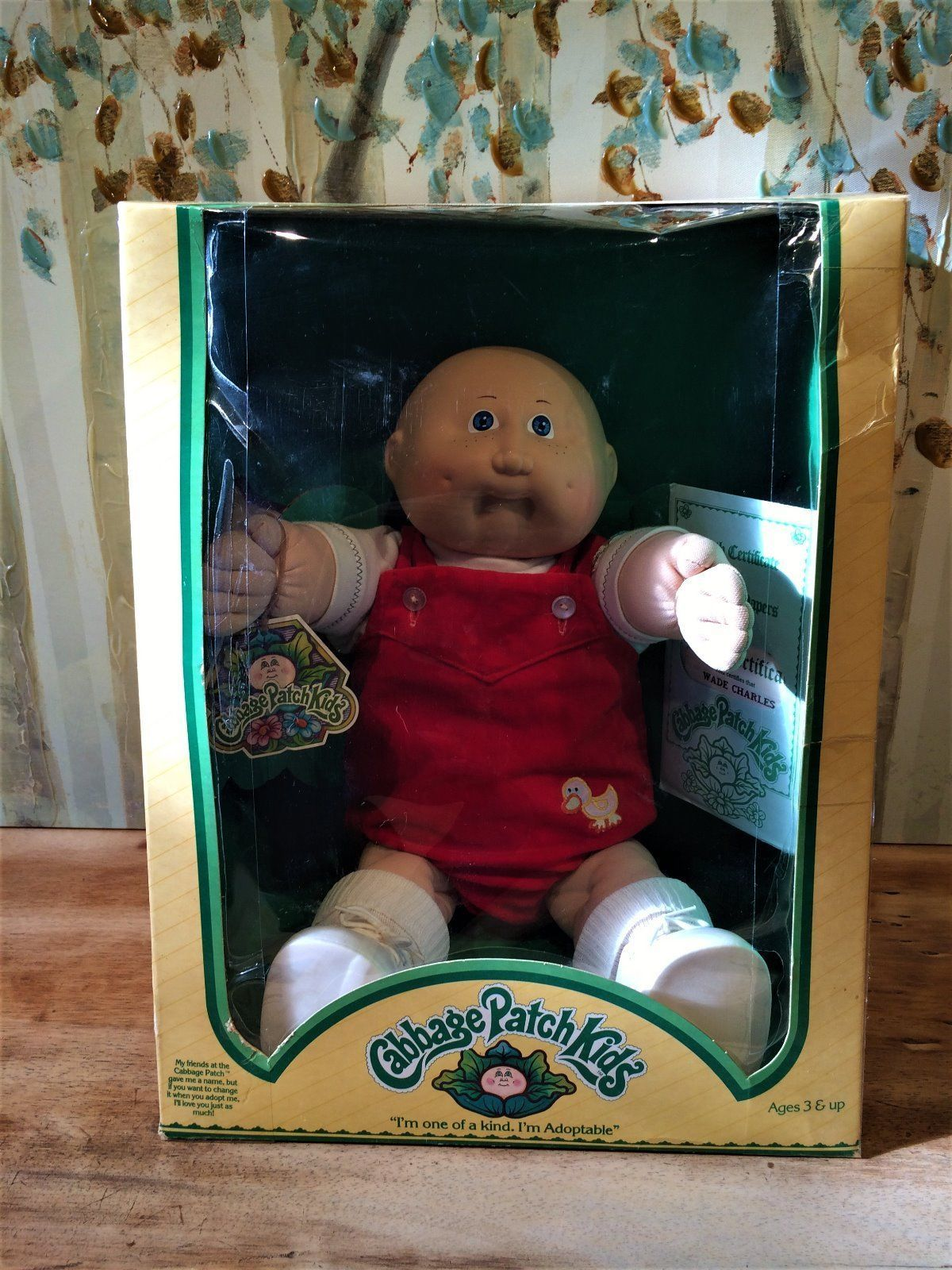 Vintage 1983 Coleco First Line Cabbage Patch Kid Wade Charles Mint In Box Cabbage Patch Kids Cabbage Patch Babies Patch Kids