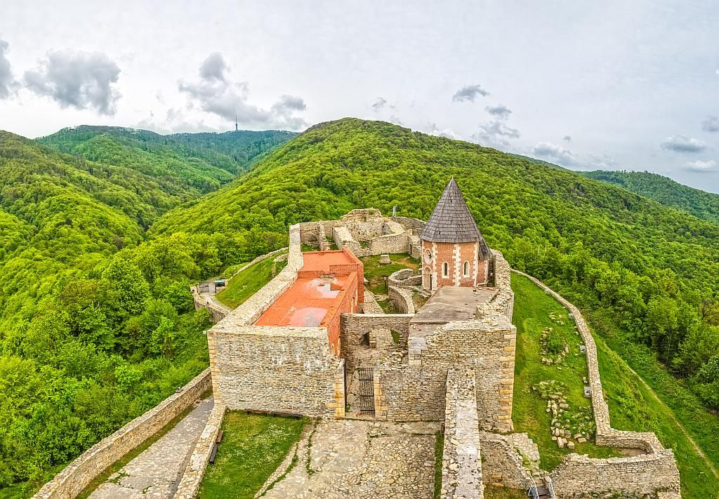 """Medvedgrad (""""The town of bears"""") is a medieval castle, located on a small hill near the capital of Croatia, Zagreb. The castle was built in the 13th century after the Tartars invaded and burned the city of Zagreb and devasted the whole area. The castle was owned by several families..."""