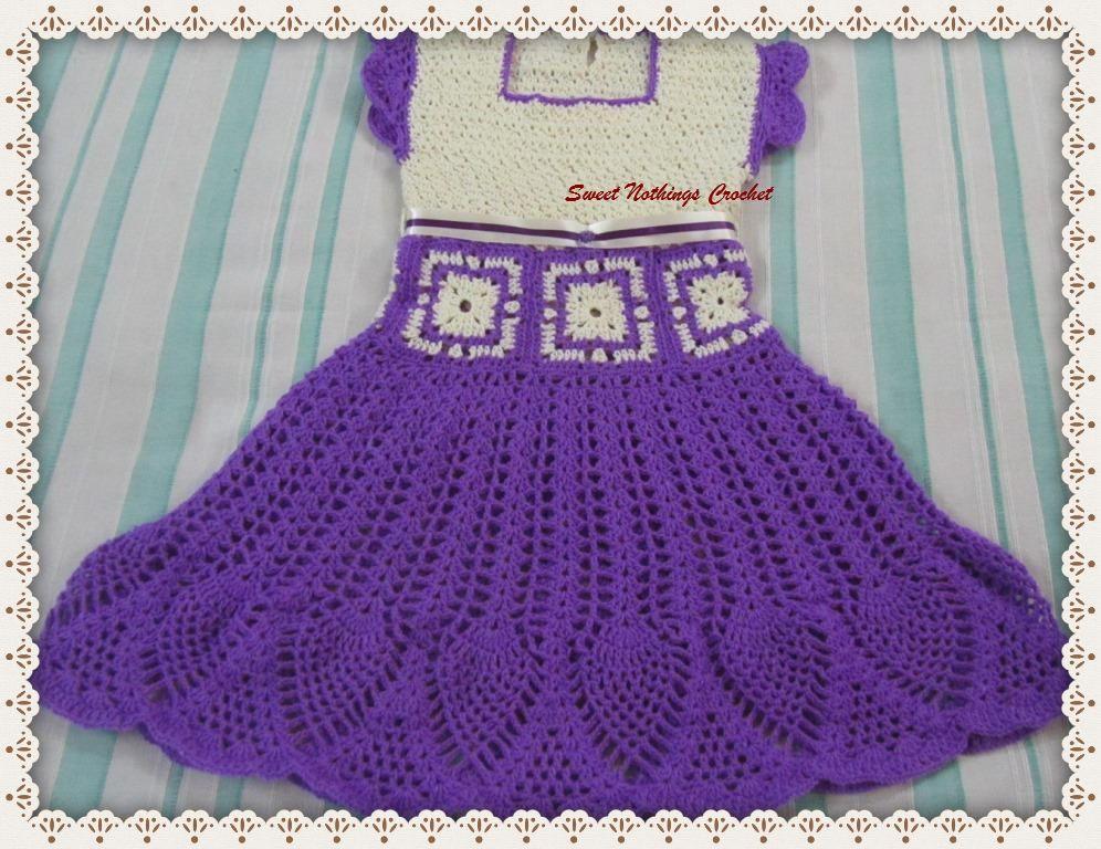 Sweet Nothings Crochet: BEAUTIFUL LOTUS BABY DRESS | bebe ...