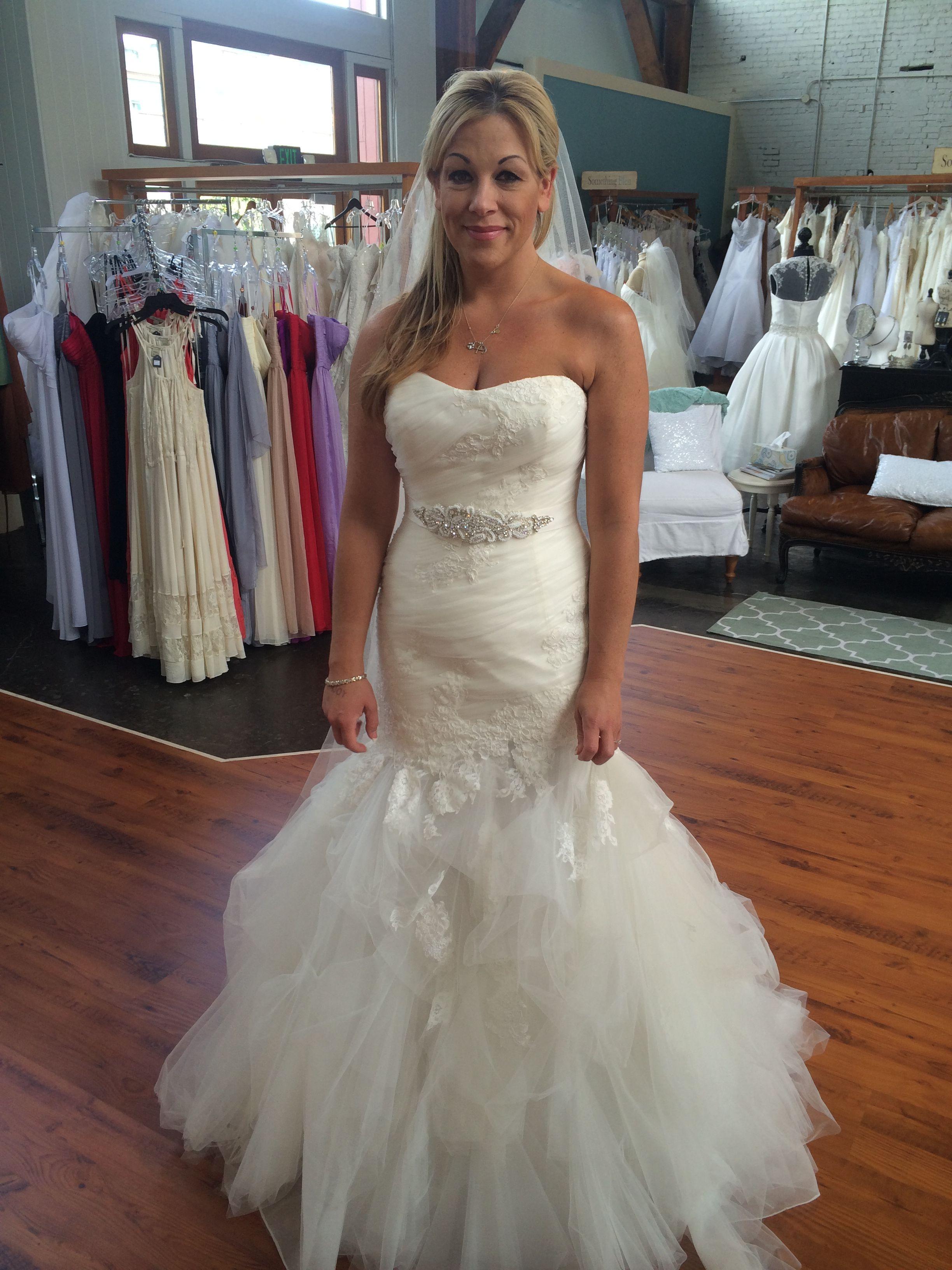 Enzoani Blue By Brides Weddingbee
