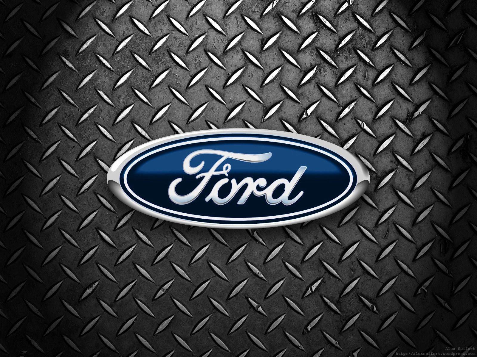 Ford Logo Hd Wallpaper Ford Logo Built Ford Tough