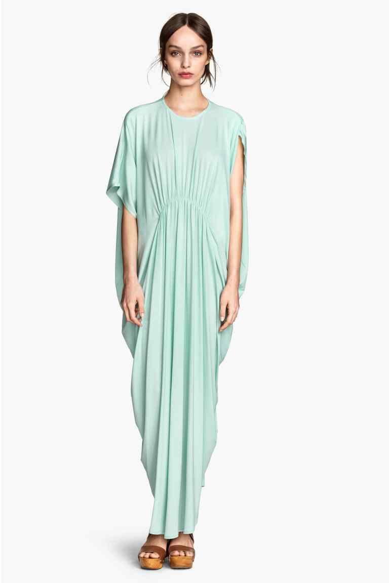 b8aec6aa2 Dżersejowa sukienka maxi
