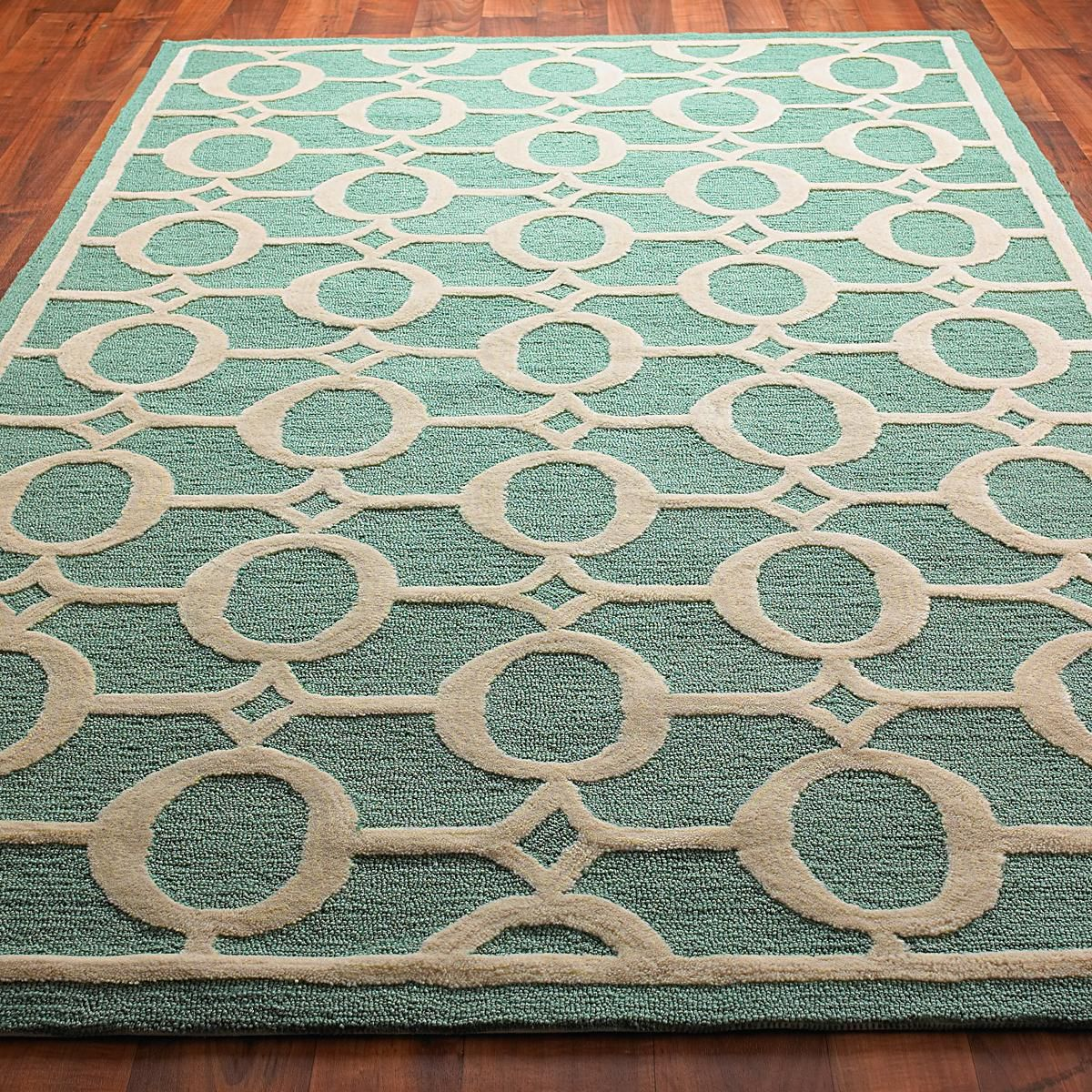 Cheap Do It Yourself Home Decor: Indoor / Outdoor Carved Ellipse Rug