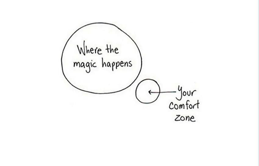Stepping Out Of Your Comfort Zone Means You Are About To Grow