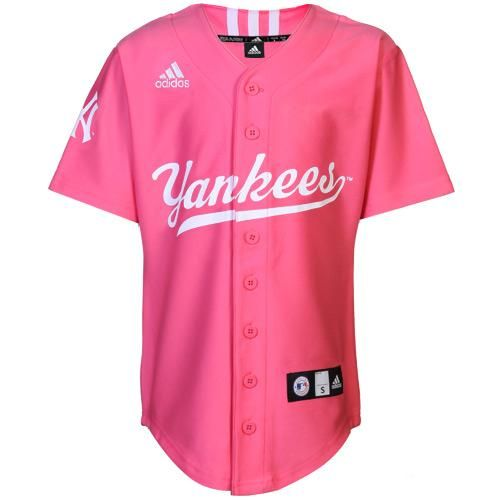 logo pink yankees women jersy and tees  b38ad20ff1b