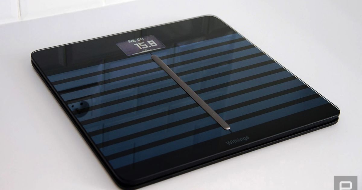 Withings Body Cardio A stylish scale for fussy health