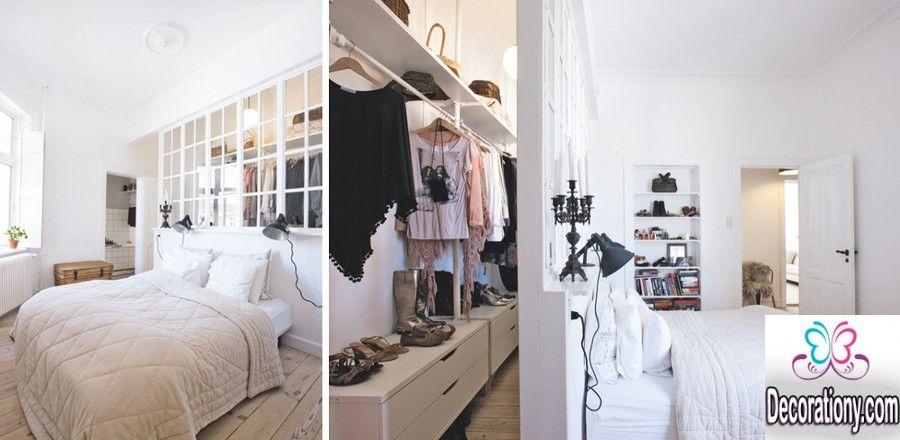 unique bedroom wardrobe ideas 13 creative walk in wardrobe behind