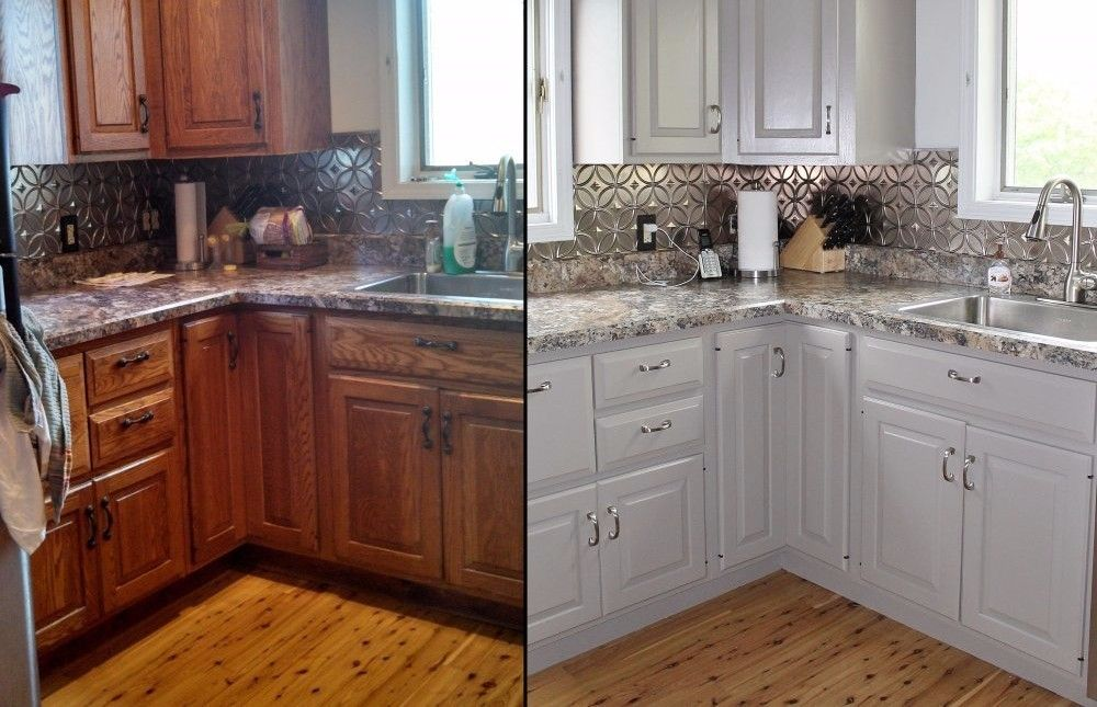 Cabinet Refinishing and Refacing | Old kitchen cabinets ...