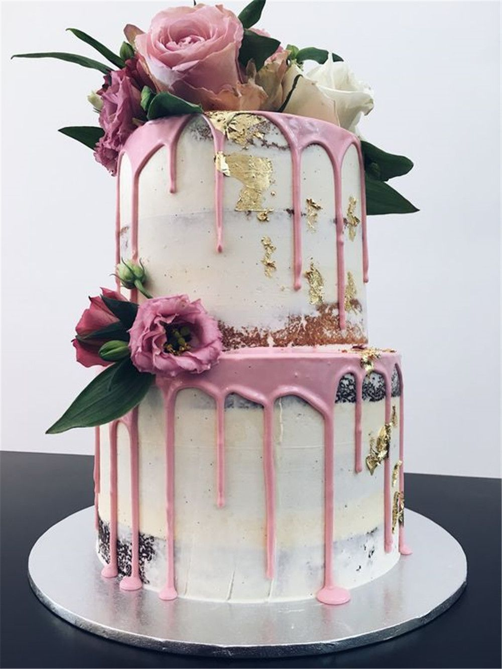 Latest Wedding Cake Trends Melbourne, Naked and Semi Naked