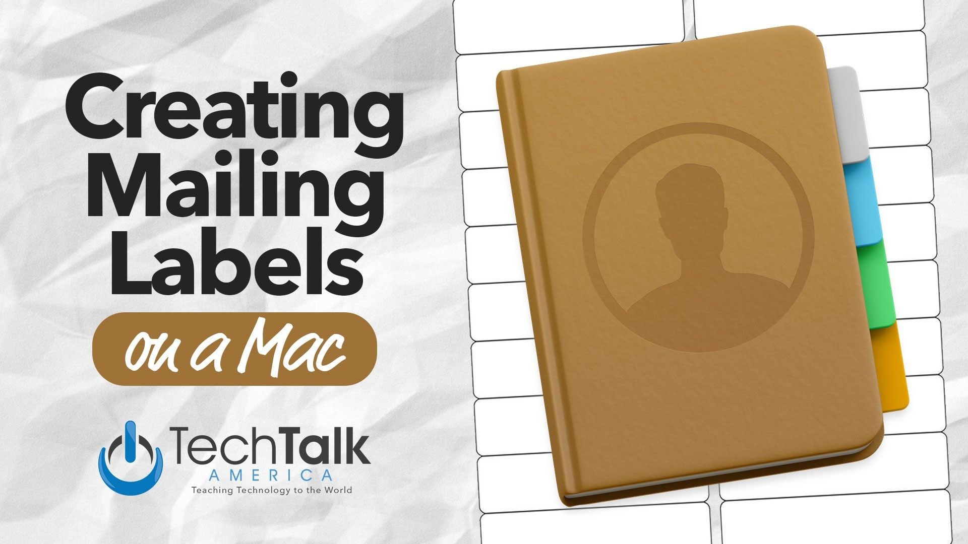 Creating Mailing Labels on Your Mac Mailing labels, How