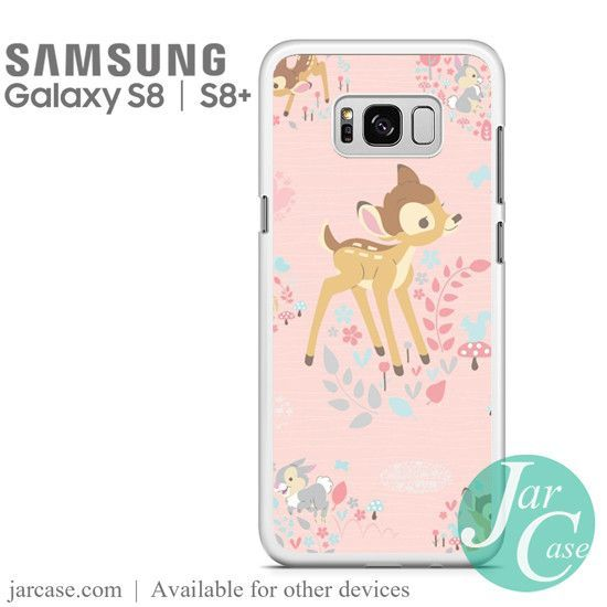 official photos 3a962 1bfd1 Bambi Cute Disney Phone Case for Samsung Galaxy S8 & S8 Plus | phone ...