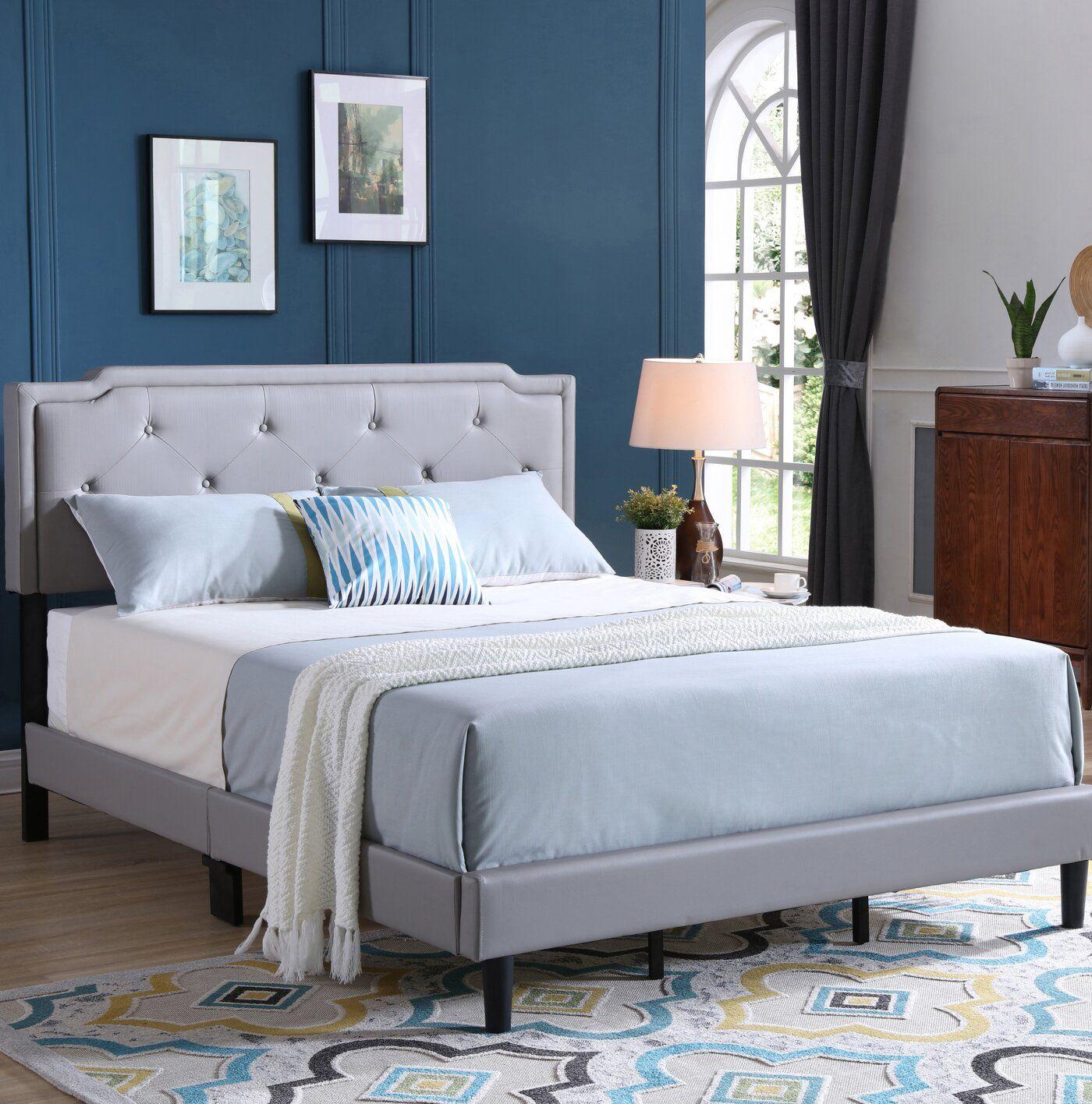 Indianapolis Upholstered Standard Bed Adjustable beds