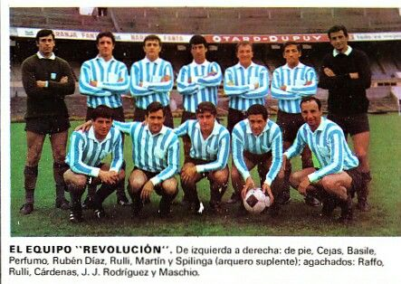 Racing Club of Argentina in 1967. Intercontinental Cup winners.