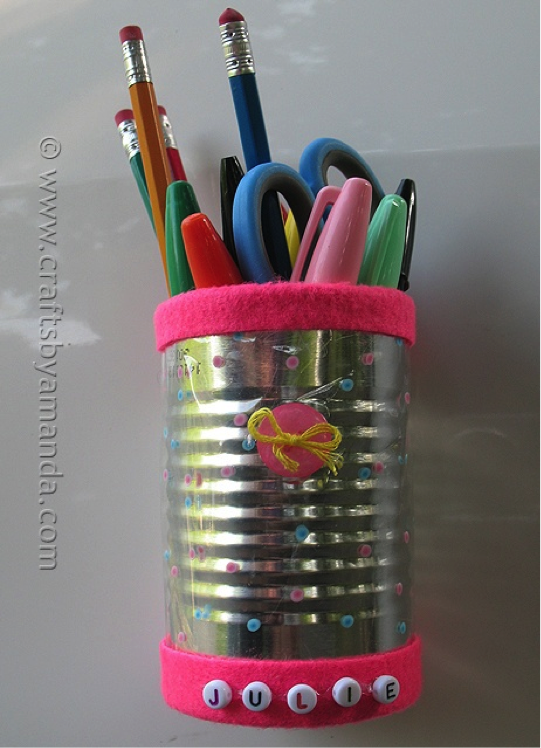 Recycled Project Ideas Making School Supplies Locker Crafts