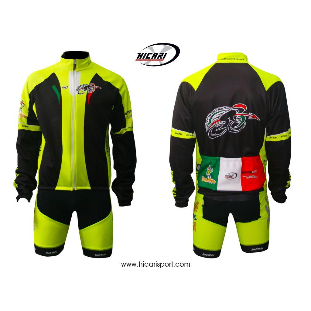 A #Bolzano fa sempre fresco. Ecco la #divisa invernale dell'A.S.D. Team Ares Bolzano.