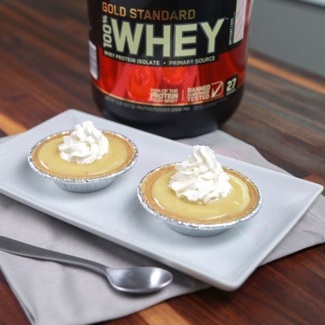 Optimum Nutrition | Maria Dinello's Birthday Cake Protein Pudding ...
