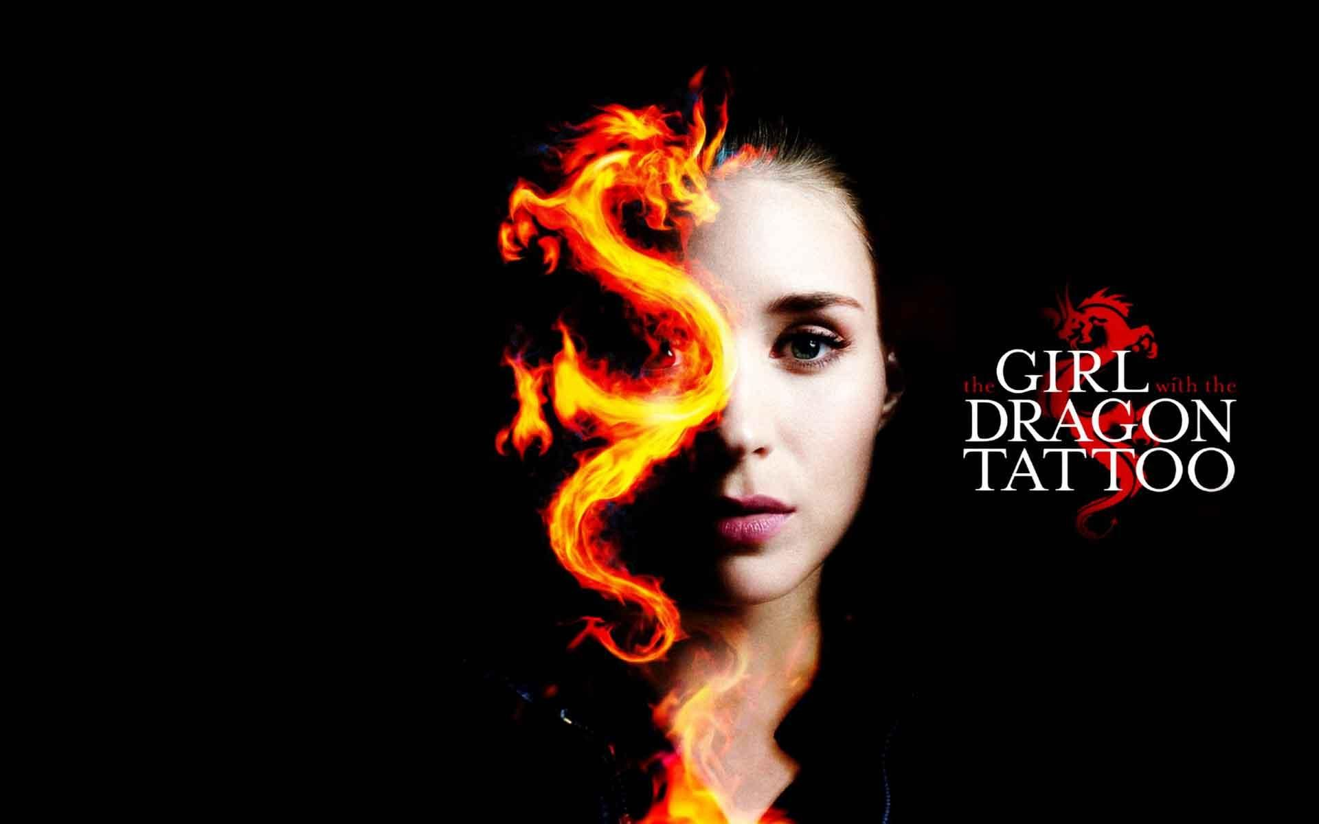 The Girl With The Dragon Tattoo Wallpaper Dragon Tattoo