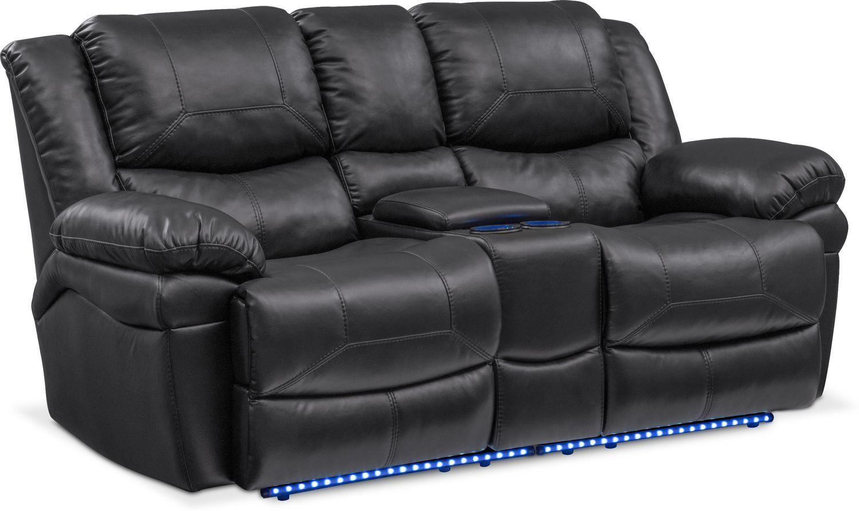 Enjoyable Monza Dual Power Reclining Loveseat Power Reclining Creativecarmelina Interior Chair Design Creativecarmelinacom