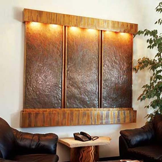 Office Water Features. Luxe Water Walls Offers The Best Indoor Features For  Your Home And