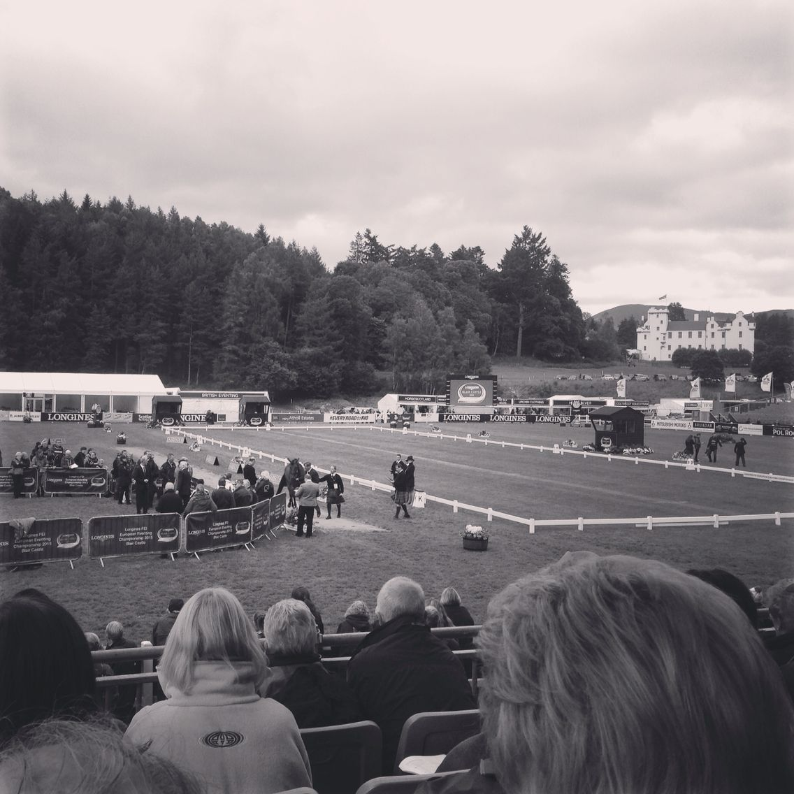 First Horse Inspection, Longines FEI European Eventing