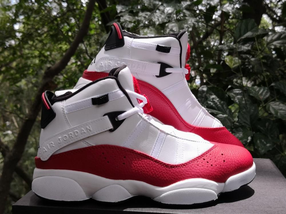 official photos 6b668 89d03 Jordan 6 Rings White University Red Mens Shoes