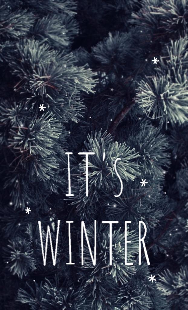 It S Winter Iphone Wallpaper Winter Winter Wallpaper Winter Backgrounds Iphone