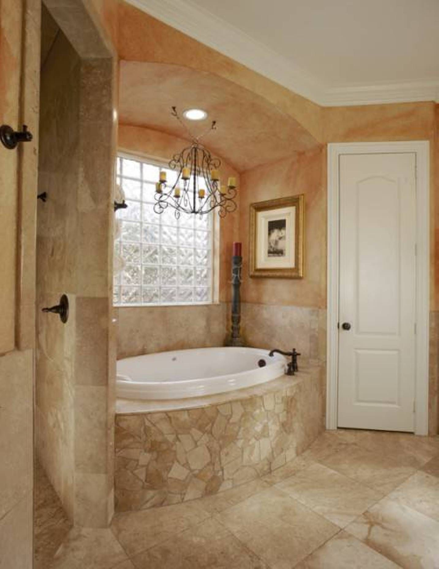 stunning tuscany bathrooms designs - Tuscan Bathroom Design