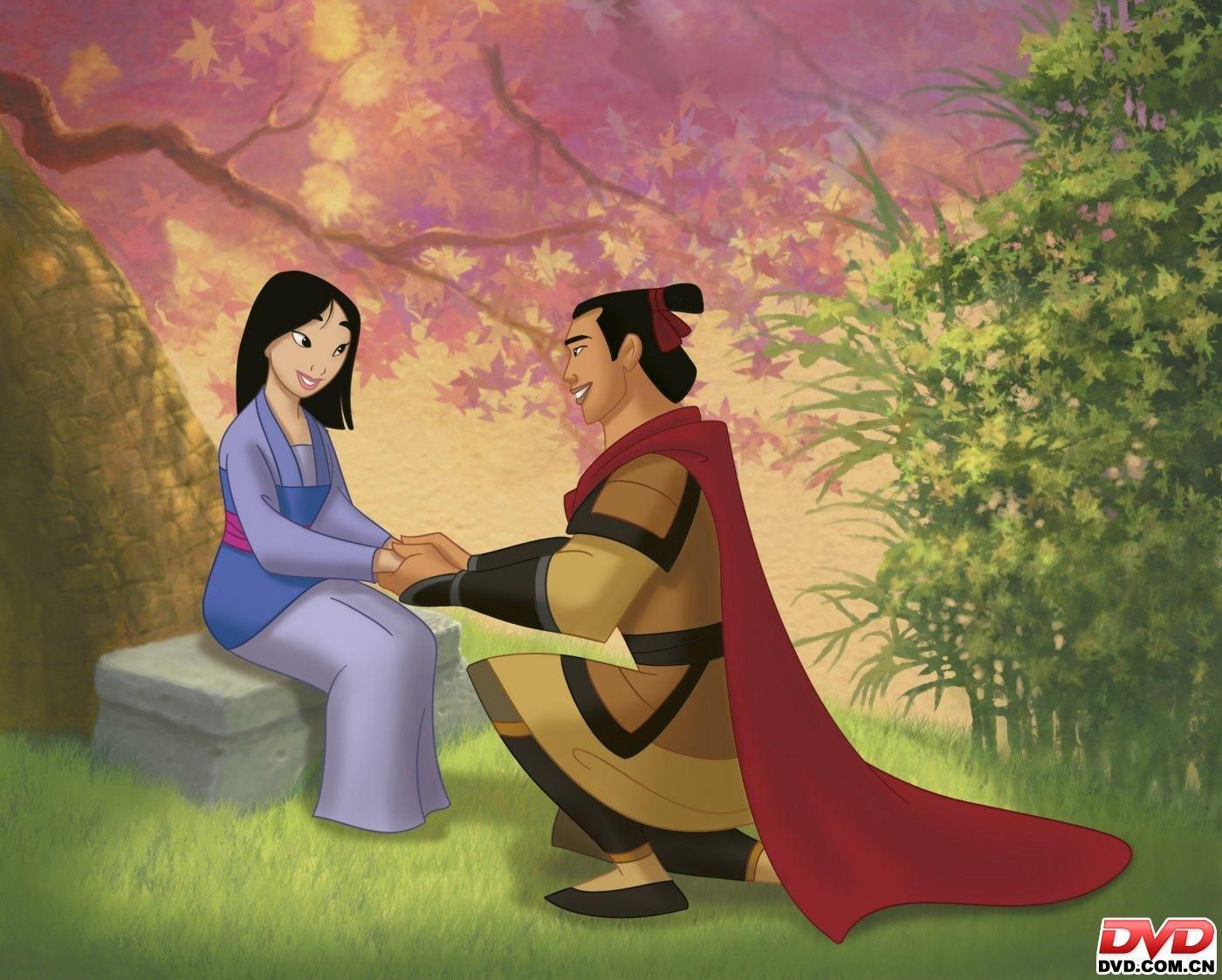 *MULAN & LI SHANG Mulan II, 2004 Disney princes