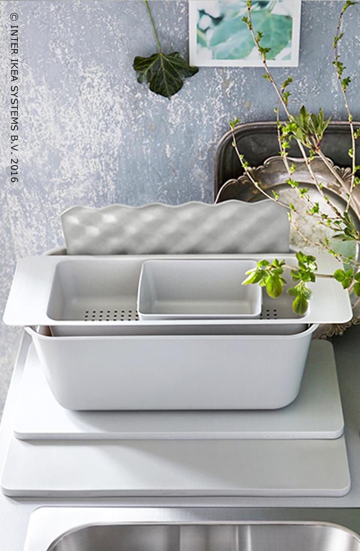 Afwasteil Grundvattnet Grijs Keuken Kitchen Sink Accessories