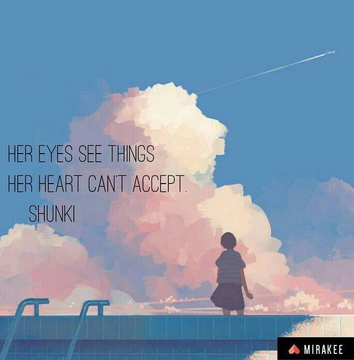 This post is by shunki on @mirakeeapp  Reality can be betraying for your innocent soul.