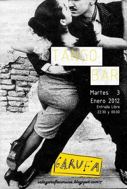 by Vanessa Liste tango graphic design diseño gráfico garufa sala conciertos concert poster cartel