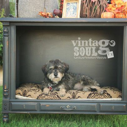 Found A Console Tv For Free On Craigslist This Might Be My Weekend Project Diy Dog Bed Designer Dog Beds Dog House Bed