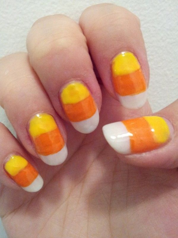 2013 halloween nails candy corn colourful nails for halloween 2013 halloween nails candy corn colourful nails for halloween nails halloween prinsesfo Choice Image