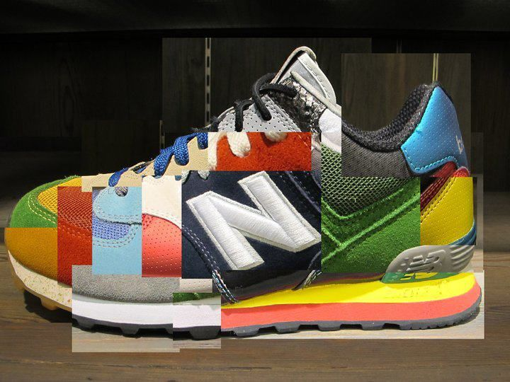 new-balance-a02-576-tartan-1 | What goes with kicks? You're right! Watches!  | Pinterest | Tartan, Trainers and Fred perry