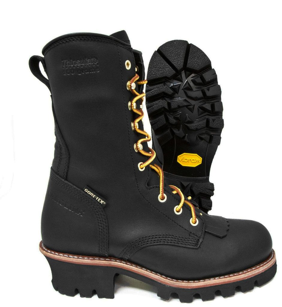 ee6297b2276 Carolina Gortex Insulated Waterproof Steel Toe Logger Boot CA7518 ...