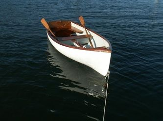 Tender, our Cape Dory 10 - TKRonaBoat | twin keel and small