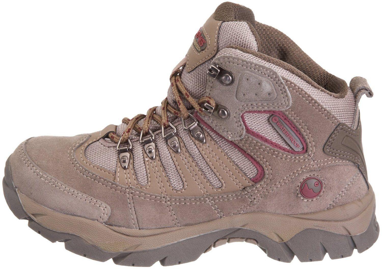 sneakers for cheap b2dfb a98ea Hi-Tec Mckinley - Zapatillas de senderismo de ante para mujer Amazon.es  Deportes y aire libre