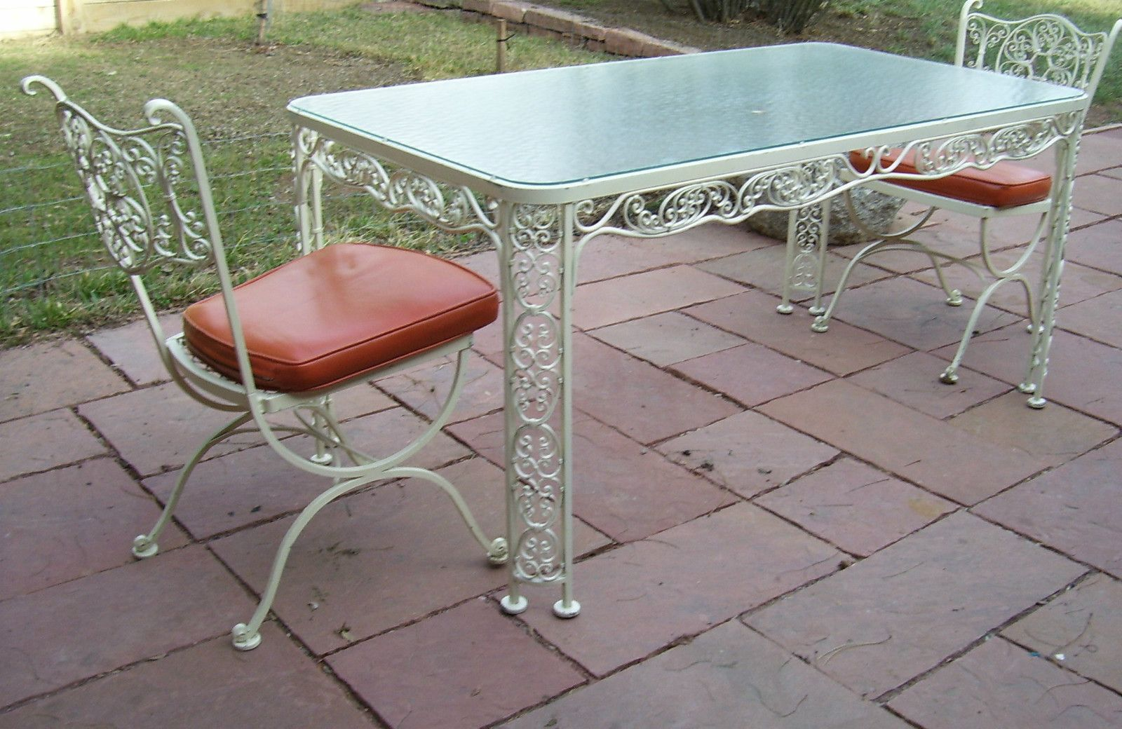 Woodard Andalusian Buy It Now On EBay $399.00 · Vintage Patio FurnitureIron  ...