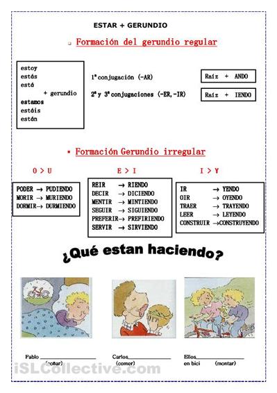 Sabes Qué Es El Gerundio En El Contexto Particular De La Gramática El Ejercicios Para Aprender Español Gramática Del Español Enseñando Español