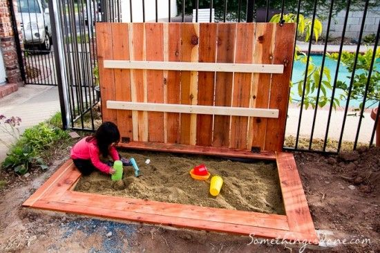 Diy Covered Sandpit With Benches Tutorial Let S Play