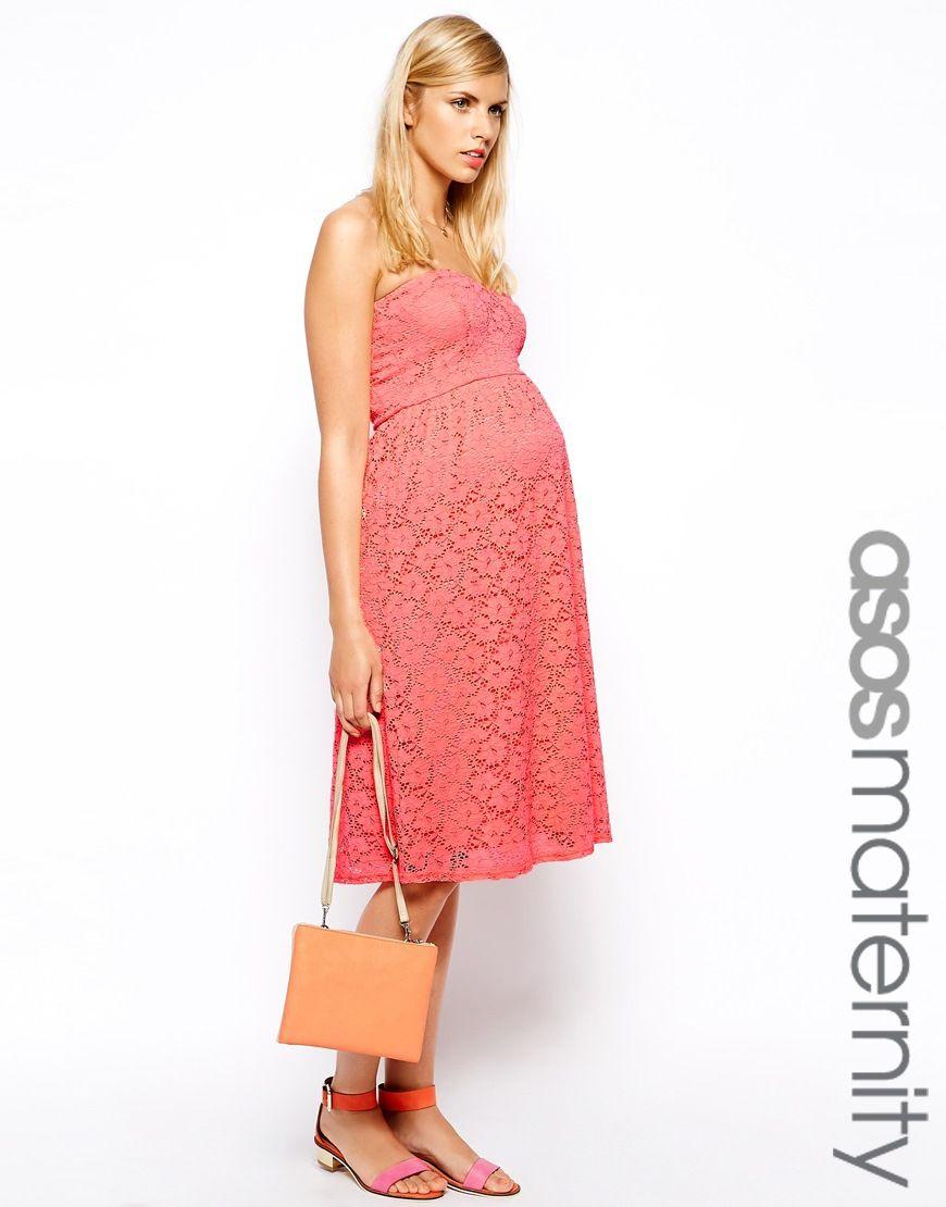 Kleid für Schwangere von ASOS Maternity passt in allen Phasen der ...