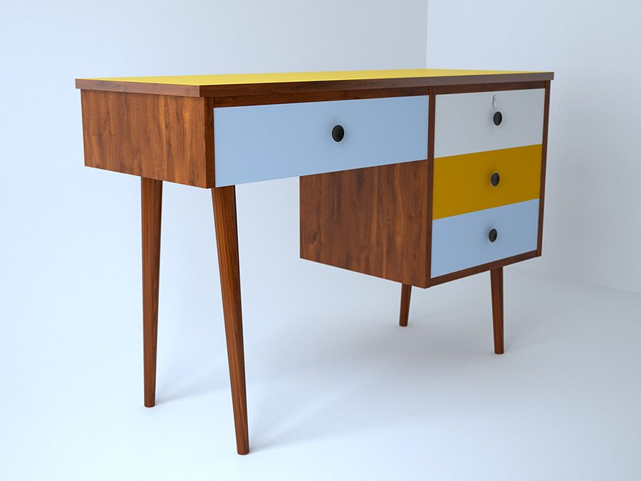 afc801b35040a retro desk - Google Search Retro Desk
